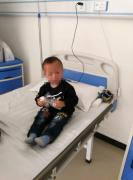 医院的儿童癫痫病人