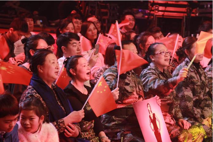 癫痫爱心大使刘晶个人专场音乐会的录制现场